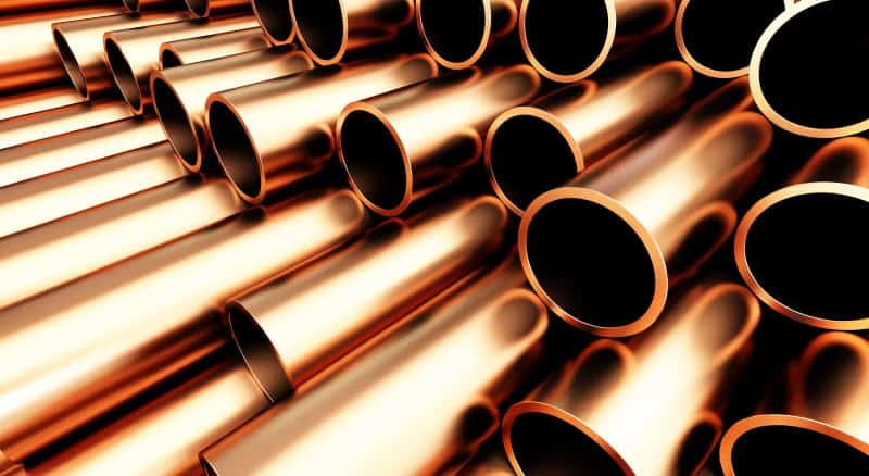 Copper emf protection